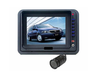 "5"" LCD Monitor with 1/3"" CCD flush color camera"