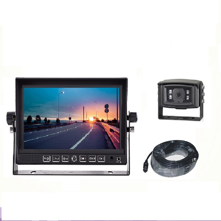 "7"" Monitor with upto 4 cameras & DVR"
