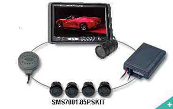 "Backup Camera 7"" LCD Rear View Camera /Backup sensor system"