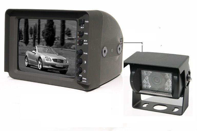 "7"" CRT Rear View Backup Camera system"